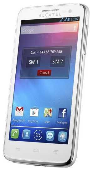 Замена сенсора, стекла, тачскрина One Touch X POP 5035X